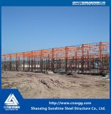 Niedrige Kosten Vor-Bildeten industrielle Stahlkonstruktion-Werkstatt