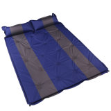 Moistureproof自己膨脹のテントのマットの折るテントのキャンプのマット+枕