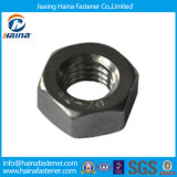 Acero inoxidable SS304 SS316, ASTM A194 B8 B8m pesada la tuerca hexagonal/4.8 el Grado 8 Grado /Negro Galvanizado DIN934 A194 2h la tuerca hexagonal en stock