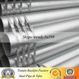 Tubulação St37 de aço galvanizada mergulhada quente