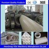 Máquina acanalada de la protuberancia del tubo de la pared doble de PE/PP/PVC
