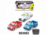 1: 18 Controle Remoto a Metal 4CH Car RC Toys (983094)