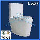 Sanitary Ware Produit Nouvelle conception Double armoire à eau de rinçage Siphonic One Piece Toilet Seat