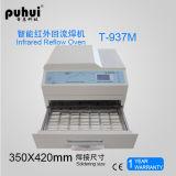 Forno di riflusso di Puhui T-937m, forno da tavolino di riflusso, macchina di saldatura dell'onda, forno di riflusso dell'aria calda