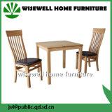 Hölzerne Esszimmer-Möbel stellten mit 2 Stühlen ein