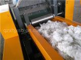 De vieux vêtements Déchets textiles fibres Frabric chiffons Machine de coupe