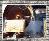 Caixa de pedra de granito e mármore//Bloco de Pedra Calcária o corte/Equipamentos de serragem