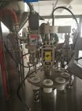 Relleno del tubo y máquina de aluminio automáticos del lacre
