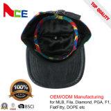 Шлемы бейсбольной кепки людей Camo хлопка способа изготовленный на заказ