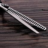 Профессиональное вспомогательное оборудование холить любимчика ножниц зубов собаки Stainess стальное