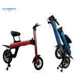 12-дюймовый мини складной электрический велосипед со скрытой батареи panasonic