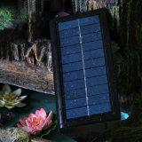 Lâmpada solar do jardim do diodo emissor de luz da luz da parede