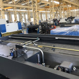 金属板の打抜き機12/3200mmのQC12Y-12/3200油圧振動ビームせん断、QC12Y-12/3200油圧せん断機械