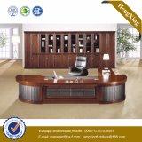 高い光沢のあるオフィス用家具の固体木のベニヤのオフィス表(HX-MT3076)