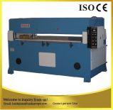 Máquina plana de la prensa del corte de los bolsos de la PU