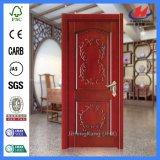 24 portes de finition de mélamine de Prehung de porte en bois solide de pouce