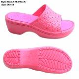 La última diapositiva diseño chicas Sandalia de tacón alto damas zapatillas