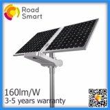 Indicatore luminoso di via esterno solare di disegno 20W di brevetto con la batteria di litio
