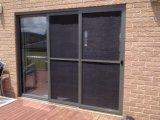 Раздвижная дверь Woodwin двойная стеклянная внешняя алюминиевая с экраном насекомого