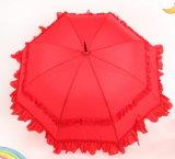 Cadarço Duplo Vermelho chapéu de casamento