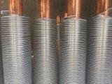 강철 그리고 알루미늄 두 배 금속 공기 냉각기에 있는 합성 탄미익 관