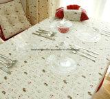 ткань 25%Cotton напечатанная 75%Linen для пальто костюма таблицы софы
