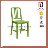 Klassische silberne Farbe, die Gaststätte-Kaffee-Marine-Stuhl speist