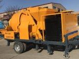 Dieselmotor-mobiler Betonmischer mit Pumpe