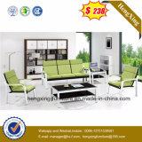 Simple y moderno mobiliario de oficina oficina de cuero sofá (HX-CS041)