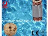 구리 헤드 4 인치 380V Oil-Cooled 삼상 잠수할 수 있는 펌프 모터