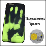 Thermochromic Neonpigment-thermisches Farben-Änderungs-Temperatur-Puder