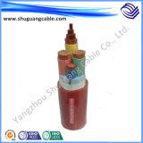 넣어진 알루미늄 테이프 전반적인 Screened/XLPE Insulated/PVC는 또는 또는 계기 케이블 좌초시켰다