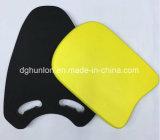 Flotteur dur Kickboard de mousse d'EVA de couleur de noir de densité