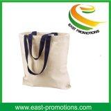 Großhandelsbaumwollsegeltuchtote-Handtaschen für das Einkaufen
