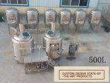 Birra che fa la strumentazione di preparazione della birra acciaio inossidabile/della macchina con una fabbrica di birra delle due imbarcazioni