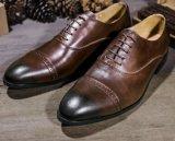 China As sapatas de condução de couro Calçado vestido de homem de negócios