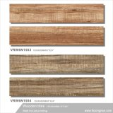 Matériaux de construction bois carrelage de sol en céramique pour la décoration (1591/1593 VRW6N, 150x600mm)