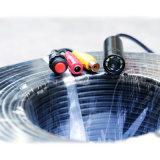 2017 neu! Fabrik auf Draht-Abwasserkanal-Gefäß-Rohr-Inspektion-Kamera des Verkaufs-8PCS LED/IR 200m langer