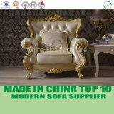 贅沢なオペラ骨董品フランス様式の居間の革ソファーの家具