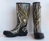 Gaines de pluie en caoutchouc du néoprène d'homme de Camo, gaines du néoprène, chaussures du néoprène