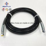 Pulverizador mal ventilado de alta pressão Hose/SAE 100r7 R8 da pintura