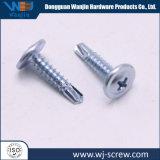 304/316/410個の銀によってめっきされるステンレス鋼のセルフ・タッピングねじ
