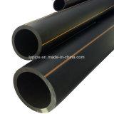 tubo negro del suministro de gas del PE de 140m m