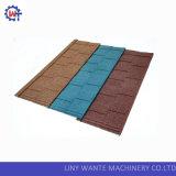 Azulejos de azotea revestidos de piedra galvanizados nuevo material de la ripia del metal
