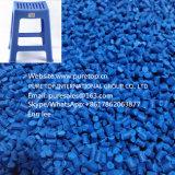 Película Injecton de las bolsas de plástico que moldea el tratamiento por lotes principal azul
