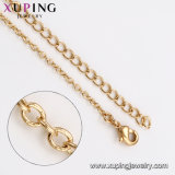 44543 het Winkelen van de Juwelen van de Verguld van de Modellen van de mode 18K van de Zijde van de Draad Stad van de Halsband Gouden online Levering voor doorverkoop