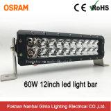 유일한 방수 60W 12inch Offroad LED 표시등 막대 (GT3106-60W)