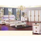 غرفة نوم أثاث لازم مع [دووبل بد] وخزانة ثوب (3389)