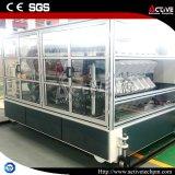 機械を形作るに機械か艶をかけられた圧延をする屋根瓦機械PVCタイル