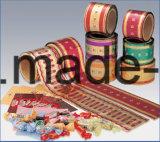 Medicinas de los bocados de Cosmetcs de los alimentos pila de discos la película laminada de los materiales de empaquetado de la película